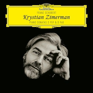 Zimerman Schubert Sonatas D959 and D960 CD cover