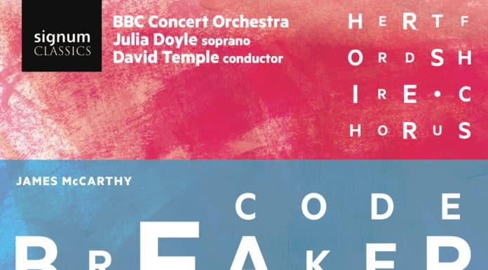 Codebreaker CD cover James McCarthy
