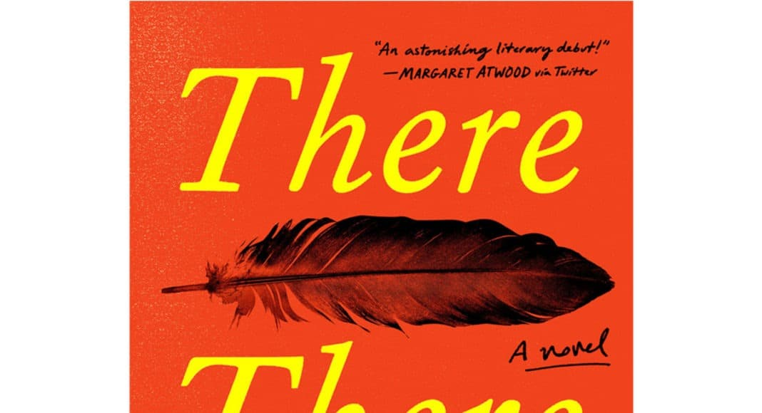"""Tommy Orange """"There there"""" review book cover"""