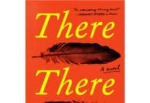 "Tommy Orange ""There there"" review book cover"