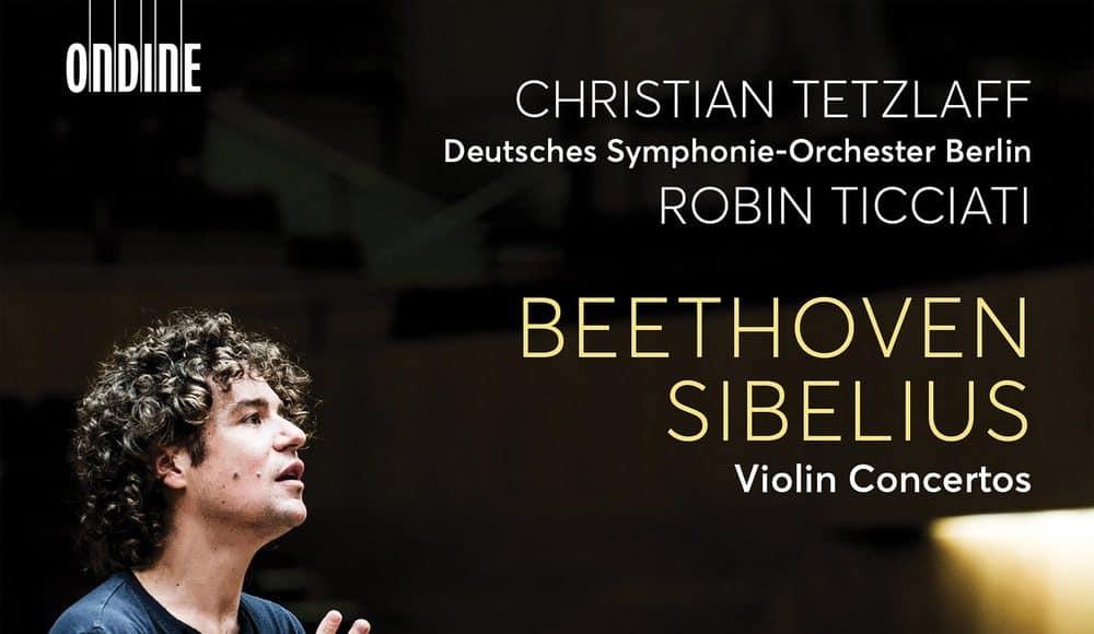Sibelius Beethoven Tetzlaff Ticciati